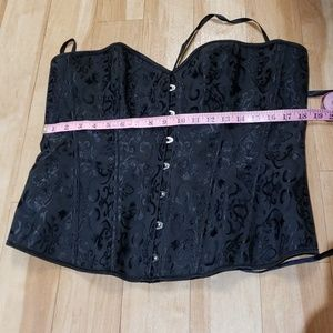 Other - Sexy Black corset with lace up back